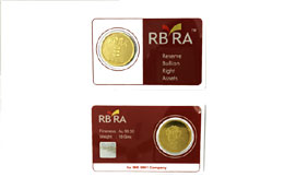 RBRA Gold Coin 10 gms
